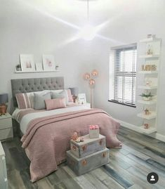 Teen Bedroom Designs, Room Design Bedroom, Luxury Bedroom Design, Bedroom Decor For Teen Girls, Cute Bedroom Ideas, Room Ideas Bedroom, Home Room Design, Small Room Bedroom, Home Decor Bedroom