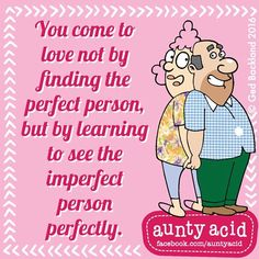 #AuntyAcid you come to love
