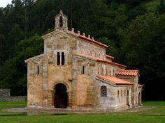Asturias: Monasterio de San Salvador de Valdediós. --- Asturies: Monastère de San Salvador de Valdediós. http://es.wikipedia.org/wiki/Monasterio_de_Santa_Mar%C3%ADa_de_Valdedi%C3%B3s