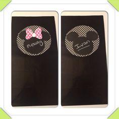 Minnie and Mickey Mouse zebra Polka dot by Busyisthenewhappy, $12.00