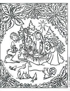 nativity coloring pages christmas coloring pages bible coloring pages printable coloring sheets