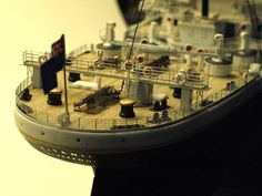 Stern of R.M.S.TITANIC Photo and modeling by Greg Shinnie