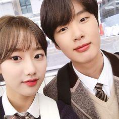Ulzzang Couple, Ulzzang Girl, Teen Web, Taiwan Drama, Web Drama, Kim Dong, Korean Couple, Golden Child, Korean Drama
