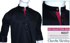 Chevin Shirley Eid Men Kurta Shalwar are trendy and stylish shalwar kameez for this festive occasion check out all the new designs launched by brand. Mens Shalwar Kameez, Kurta Men, Designer Suits For Men, Designer Clothes For Men, Eid Dresses, Dresses 2016, Pathani Kurta, Boys Kurta Design, Men's Waistcoat