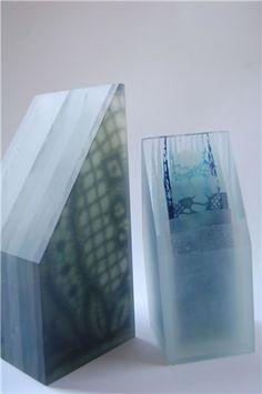 Emma Rawson, No Going Back I and II, 2012 Glass Art, Reflection, Design Inspiration, Contemporary, Artist, Artwork, Layout Inspiration, Work Of Art, Glass Craft