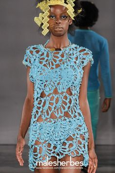 [Moda] George Styler SS2015 Por favor, siga-nos em nossa página Fackbook, se você está interessado e também para saber mais sobre nós e crochê, tricô, artes, moda, filmes e muito mais ... https://www.facebook.com/maisonmalesherbes/