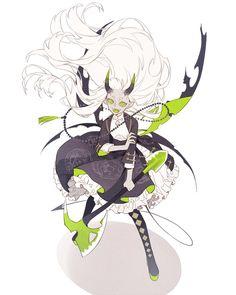 "Base colors are beautiful 破メメさんのツイート: ""Tang suit demon Alice… "" Fantasy Character Design, Character Design Inspiration, Character Concept, Character Art, Concept Art, Pretty Art, Cute Art, Character Design References, Creature Design"