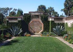 Bok Tower garden near Orlando, Florida