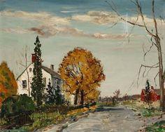 Paletown route de Walter Emerson Baum (1884-1956, United States)