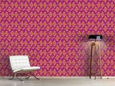 Design #Tapete Tribal Fische Oriental, Design, Self Adhesive Wallpaper, Fish, Wall Papers