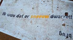 """aqua vitae... laat het levenswater stromen: 2mrt16 Street poetry about """"water"""" in Amsterdam [..."""