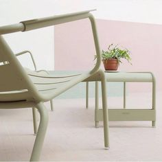 Fermob Luxembourg chair in willow green