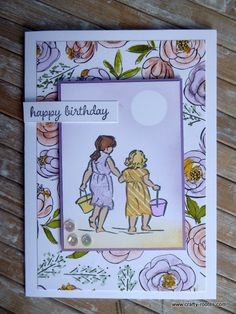 Today I am sharing an adorable beach babies card made using the Beautiful Moments stamp set and the gorgeous Best Dressed designer series paper (dsp). Beach Babies, Birthday Cards, Happy Birthday, Circle Punch, Cute Little Girls, Beautiful Moments, Baby Cards, Nice Dresses, Stampin Up