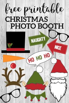 8f754487f5080 49 Best Christmas Photo Booth Props images