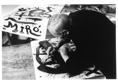 """""""The older I get and the more I master the medium, the more I return to my earliest experiences. I think that at the end of my life I will recover all the force of my childhood."""" - Joan Miro, 1960"""