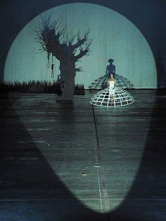 Europeras 1 & 2 (John Cage), set design and light by Klaus Grünberg, Ruhrtriennale 2012 (with Karolina Gumos)