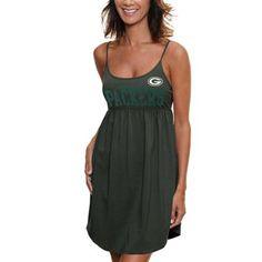 '47 Brand Green Bay Packers Ladies Susie Baby Doll Dress - Green #myfanaticswishlist