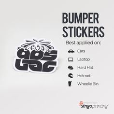 Hard Hat Stickers, Cheap Stickers, Stickers Online, Laptop Stickers, Bumper Stickers, Custom Sticker Printing, Custom Stickers, Wheelie Bin Stickers, Outdoor Stickers