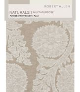 Naturals Multi-Purpose Pumice Whitewash Flax Digital Fabric Book
