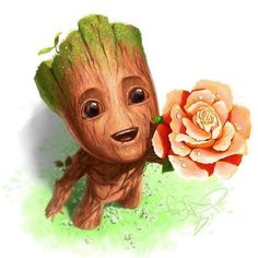 Baby Groot ❤️  Best of Disney Art by Svistunov Sergey (Fear-sAs)