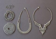 DIY Vintage Statement Necklace Supplies