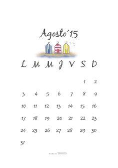 el taller de TROCO: Vacaciones y calendario Agosto