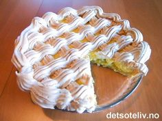Norwegian Food, Pudding Desserts, Let Them Eat Cake, Food And Drink, Pie, Sweets, Cookies, Board, Deserts