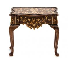 A Dutch Style Marquetry Console Table, CHRISTOPHER MALCOMSON,