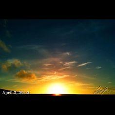 朝焼け #sunrise #sky #cloud #philippines #空 #雲