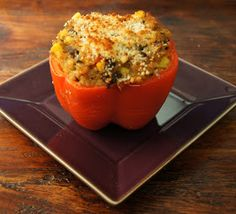 Fresh Equation: Vegetarian Stuffed Peppers