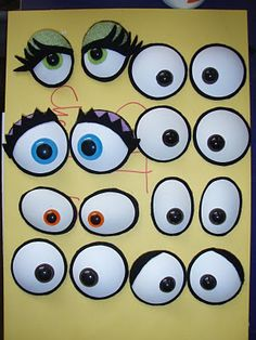 jarrod boutcher puppets: PUPPET EYES.... i like the look of these!