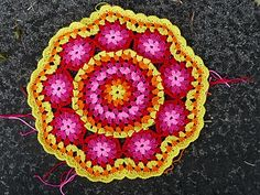 Nancy's Crochet: Mandala