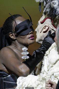 Grace Jones 'Cavalchina' Ball in Venice  with Prince Maurice