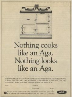 AGA (advert from the 1990's)