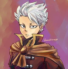 Portrait of Lyon wearing red (not his usual color LOL but I'd love to see him in other clothes other than his blue coats) FT : Lyon Fairy Tail Lyon, Fairy Tail Anime, Fairy Tail Characters, Anime Characters, Fictional Characters, Natsu And Gray, Fairy Tail Photos, Baka And Test, Fairy Tail Cosplay