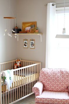 In the Running for the World's Most Popular Crib: IKEA's Sniglar.  This really does look like a sweet crib! :)