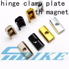 Aceoffix folding bike hinge clamp plate with magnet C buckle for brompton BMX birdy anti-shedding C buckle parts. Bicycle Race, Mtb Bike, Bmx, Full Suspension Mountain Bike, Mountain Bicycle, Brompton, Road Bikes, Clamp, Carbon Fiber