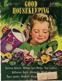 """Good Housekeeping"""" magazine cover - March 1919. Description from pinterest.com. I searched for this on bing.com/images"""