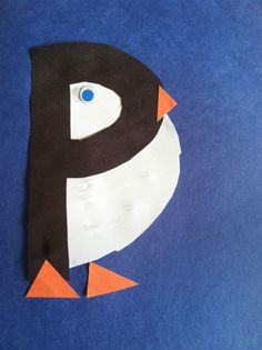 P is for Penguin Craft (from Ready. Set. Read!)