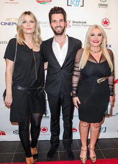 AMBI Group founders Andrea Iervolino and Monika Bacardi with the actress Mischa Barton arriving on ICFF 2015 in Toronto, Canada! Mischa Barton, Bacardi, Toronto Canada, Peplum Dress, Actresses, Group, Fashion, Female Actresses, Moda