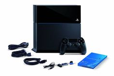 PS4 box details, Sony Playstation 4