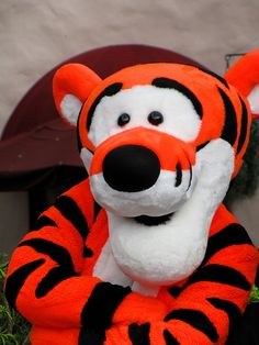 #Tigger - Meet & Greet       I was at your baby shower with you! HA!