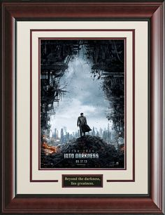 Star Trek Into The Darkness Framed Movie Poster   Official, Movie Posters, Posters