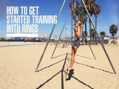 Here's how to get starting training with gymnastic rings!