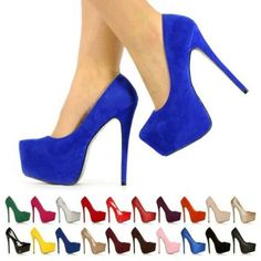 Item Pair Shoes Only (Shoes Without Box). If you have a wide or thick foot, we advise you to choose one size bigger. Suede Shoes, Pump Shoes, Shoe Boots, Shoes Heels, High Heels Stilettos, Stiletto Heels, Only Shoes, Court Shoes, Platform Pumps