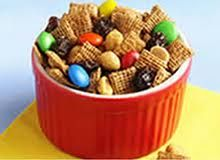 crispix m&m snack