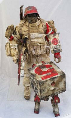 3A WWR Hara Patrol JDF Grunt MK2 Square SET Ashley Wood 1 6th Threea Goodsmile | eBay