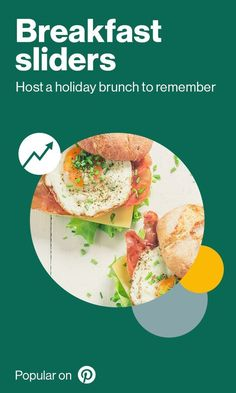 Breakfast is the most important meal of the (holi-)day and Pinners are satisfying their appetites with these savory sliders. There are over 129k saves for breakfast sliders on Pinterest - and they just keep coming!