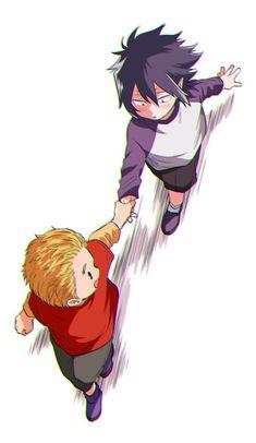 Mirio and Tamaki as kids Boku No Hero Academia, My Hero Academia Memes, Hero Academia Characters, My Hero Academia Manga, Anime Characters, Manga Anime, Anime Art, Anime Love, Anime Guys