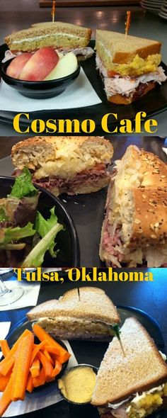 Celebrate National Sandwich Day any day of the year at Cosmo Cafe in Tulsa! Fast forward your taste buds to the holidays and try their Thanksgiving sandwich that is piled high with roasted turkey, sweet cranberry relish, and savory stuffing. They also have a mouthwatering myriad of other creations to try so put them on your list when you're traveling through Tulsa!